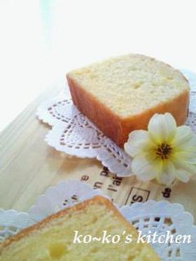 レモンカトルカール(パウンド生地)
