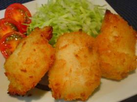 白身魚のフライ〜鱈バージョン