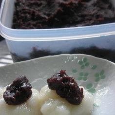 贅沢✿黒糖粒あん(圧力鍋使用)