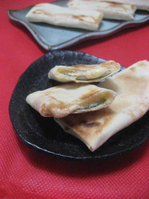 焼き春巻き❤in餅・明太・チーズ