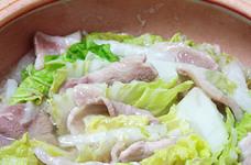 白菜と豚しゃぶの蒸鍋
