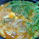 うちの豆腐チゲ鍋