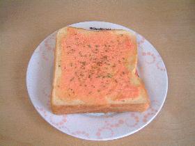 感動!明太子トースト
