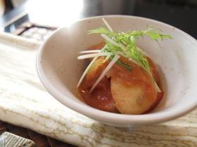 里芋のトマ味噌煮