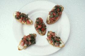 トマトのブルシェタ