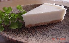ヨーグルトレアチーズ風ケーキ♪