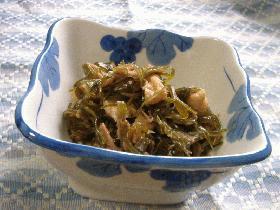 生昆布の炒め煮