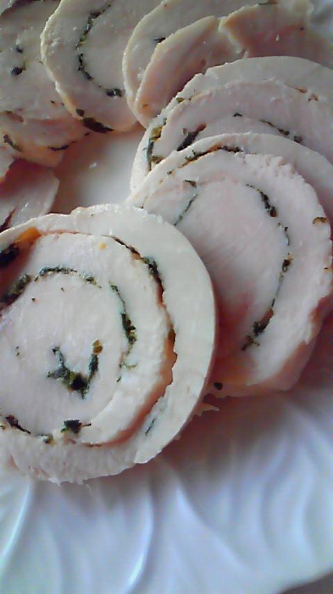 鶏ハム♪パセリ&レモン 炊飯器で簡単