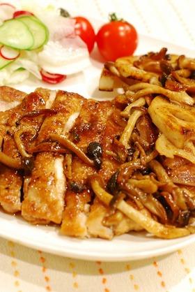 ジューシーな♪鶏肉のバルサミコ酢照り焼き