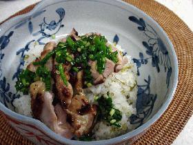 鶏高菜どんぶり