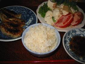 ☆餃子定食☆