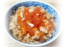 いくらと生秋鮭で宮城の郷土料理☆はらこ飯