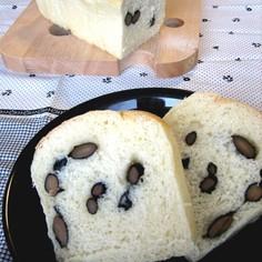 もっちりヘルシー☆おとうふ黒豆パン