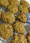 フライ後の余った小麦粉卵パン粉でクッキー