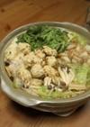 鶏ちゃんこ鍋の素