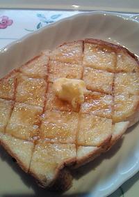 塩麹のハニー・トースト
