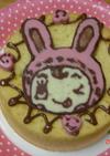 チョコデコ!簡単にキャラクターケーキ★