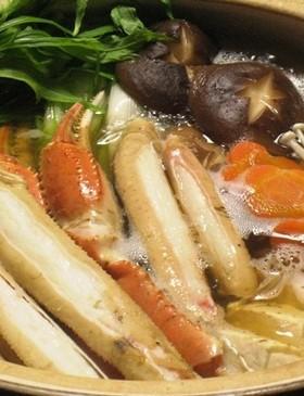 お節に!海鮮!カニすき(カニ鍋)