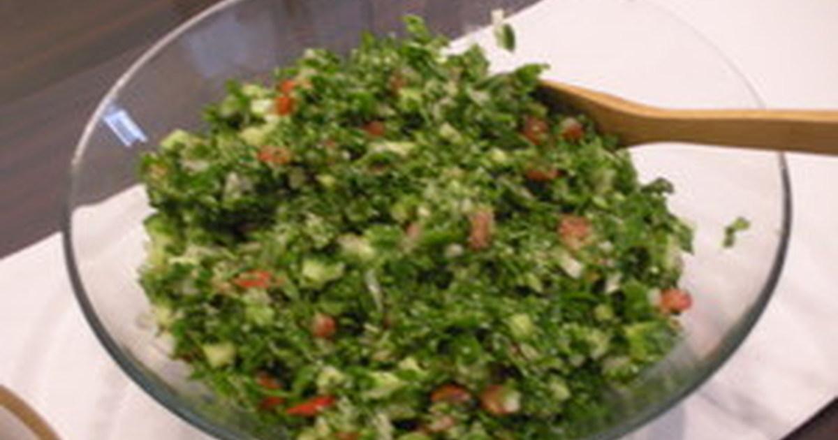 パセリのサラダ(タブレ)