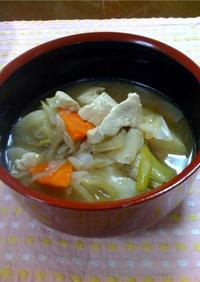 仙台と山形風(庄内地方)の芋煮