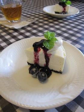 なめらかミルキー♪絶品レアチーズケーキ♥
