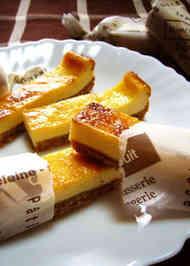 チーズ ケーキ スティック