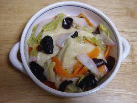 高野豆腐の五目旨煮
