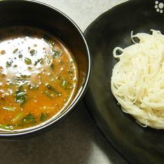 簡単★坦々麺風♪ピリ辛つけ麺
