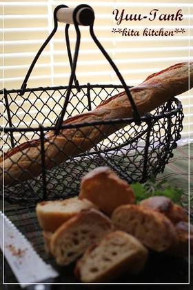 技あり☆ヘラ捏ねで~お醤油フランスパン
