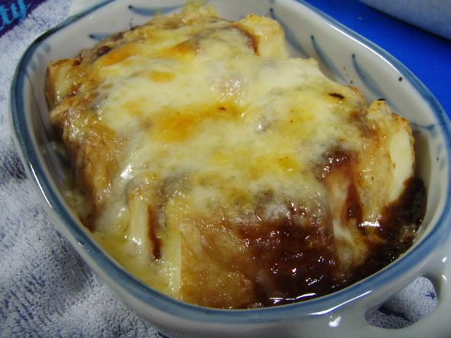 厚揚げのチーズ焼き*田楽みそで