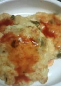 離乳食後期に★野菜と豆腐のハンバーグ