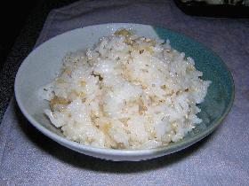 たぬきご飯