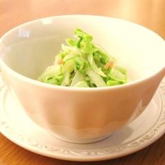 ∮白菜とコーンღ明太子マヨネーズ和え∮