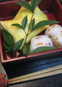 簡単!大きなふくさ寿司と茶巾寿司!