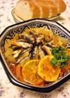 トルコの家庭料理☆いわしの重ね煮