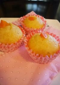 にんじん蒸しケーキ