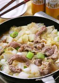 生姜焼き 鍋