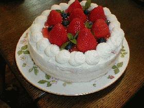 なっちゃん12才の★HAPPY BIRTHDAY  CAKE★