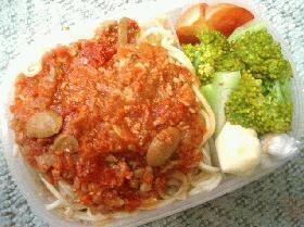 ミートソーススパゲッティ弁当