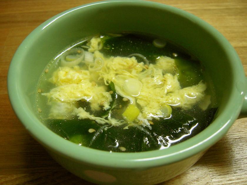 焼肉屋さんの玉子スープ