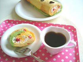 ☆米粉たっぷりのベジロールケーキ☆