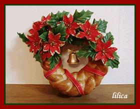 パンのリースdeクリスマス☆2010