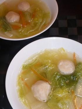 シンプルな♪白菜スープ
