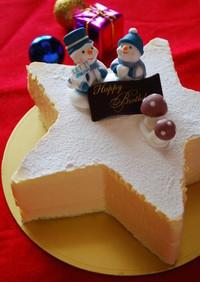 ホワイトチョコとラズベリーのケーキ