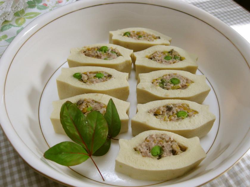 高野豆腐のいんろう煮
