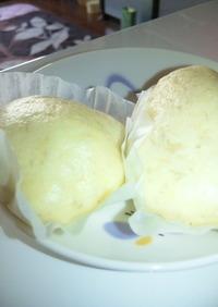 離乳食完了期 バナナ蒸しパン