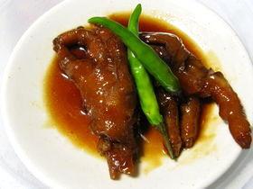 鶏足(もみじ)の甘辛煮