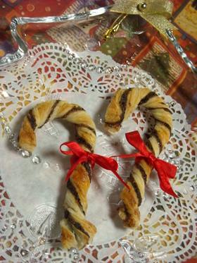 簡単♪クリスマススティックパイ