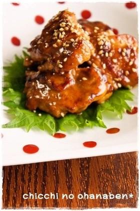 *お弁当おかず* 鶏肉のスパイシー焼き