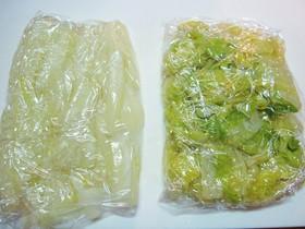★白菜☆余って困ったら→冷凍保存♪★